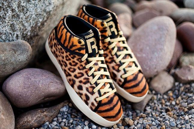 Tyga X Reebok Classics T Raww Leopard Tiger Angle 1