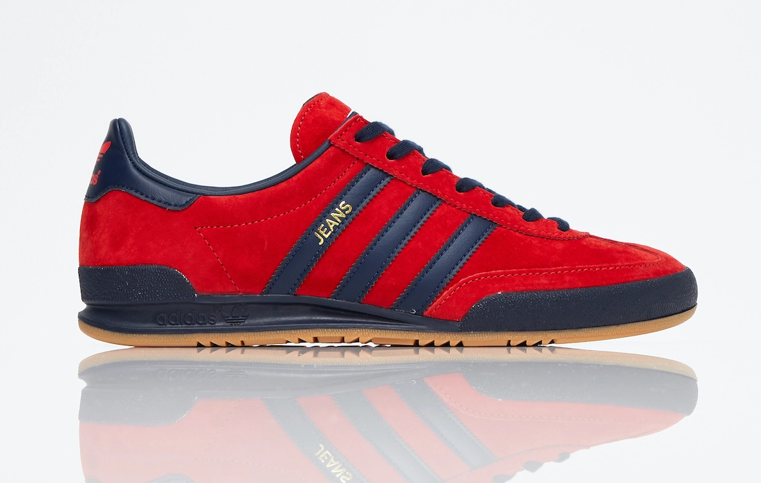 adidas Jeans Red Navy