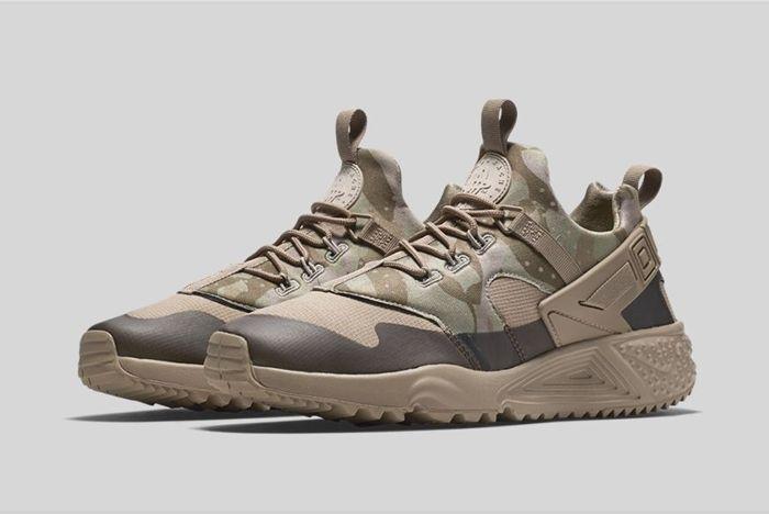 Nike Air Huarache Utility Khaki 1