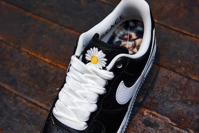 G Dragon Peaceminusone Nike Air Force 1 Tongue