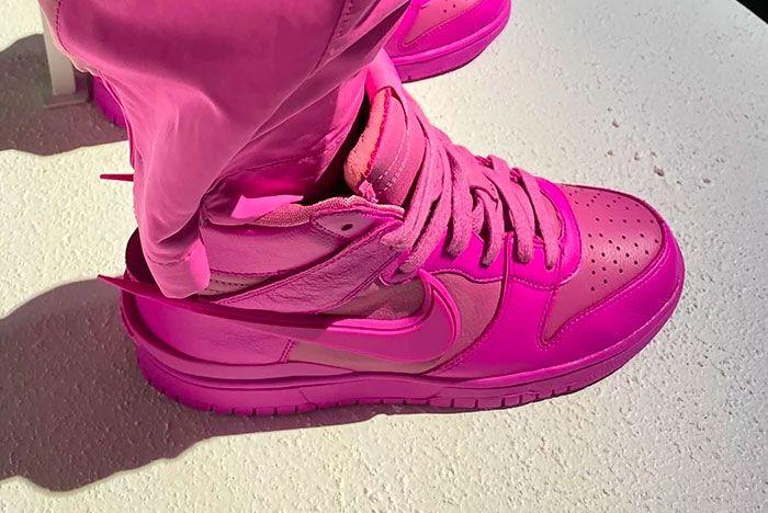 Nike Dunk High 'Lethal Pink'