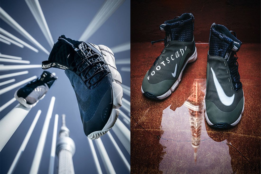 Nike Air Footscape Mid Utility Tokyo Limited Edition For Nonfuture Mita Sneakers 4