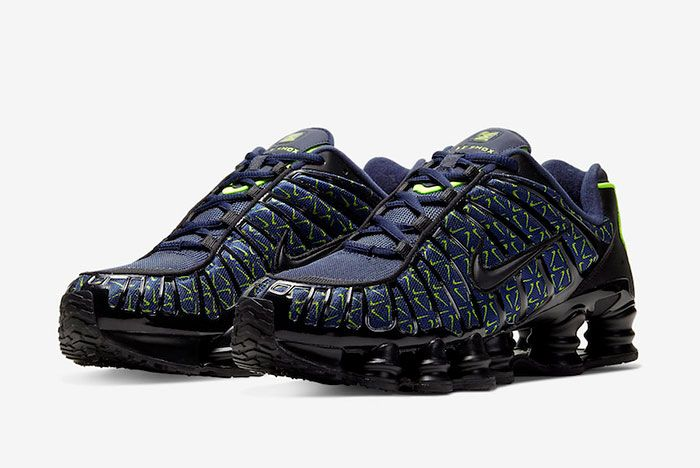 Nike Shox Tl Just Do It Ct5527 400 Front Angle
