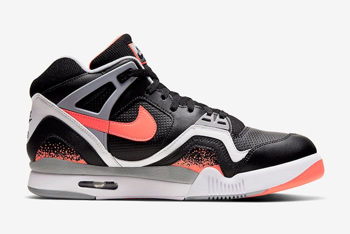 Nike Air Tech Challenge 2 Black Lava Cq0936 001 Medial
