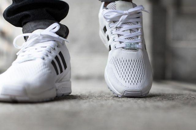 Adidas Zx Flux Superstar White 3