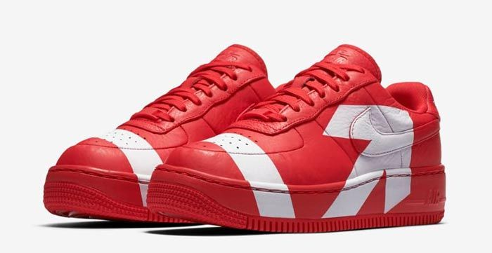 Nike Air Force 1 Upstep Wmns Red White