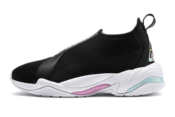 Puma Thunder Tz Metallic Pale Pink Lateral
