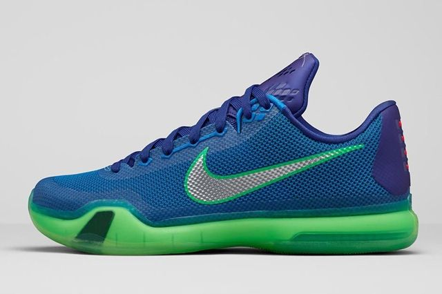 Nike Kobe X Emerald City 1