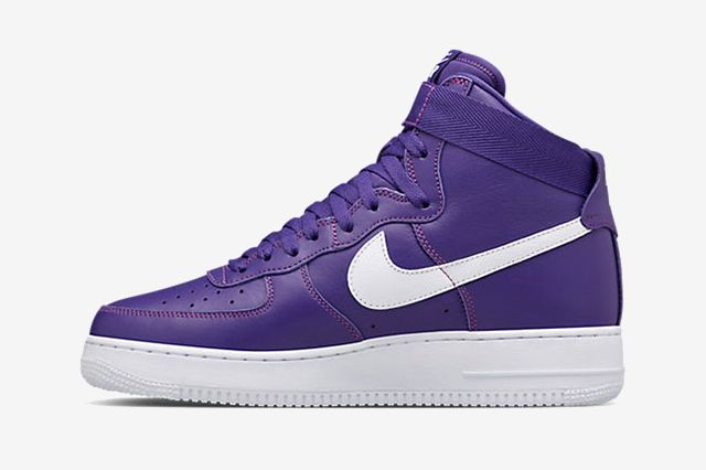 Nike Air Force 1 High Purple5