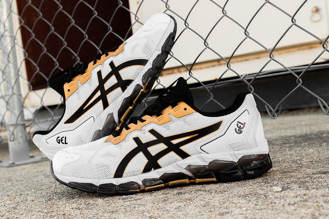 ASICS GEL-Quantum 360 6 black white jd sports hero