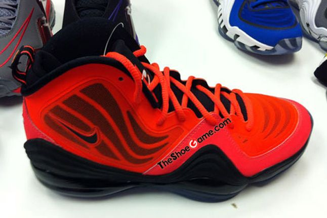 Nike Penny 5 Red Black 1