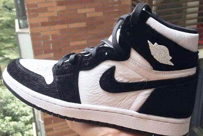 Air Jordan 1 High Og Panda Left