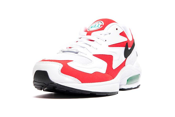 Nike Air Max 2 Light Habanero Red Front Angle Shot 5
