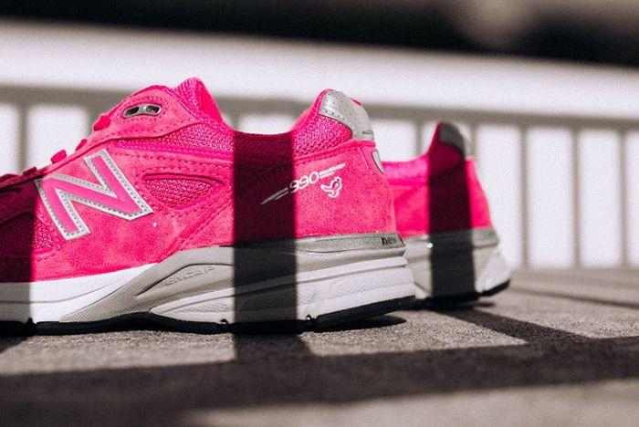 New Balance 990 V4 Komen Pink 3