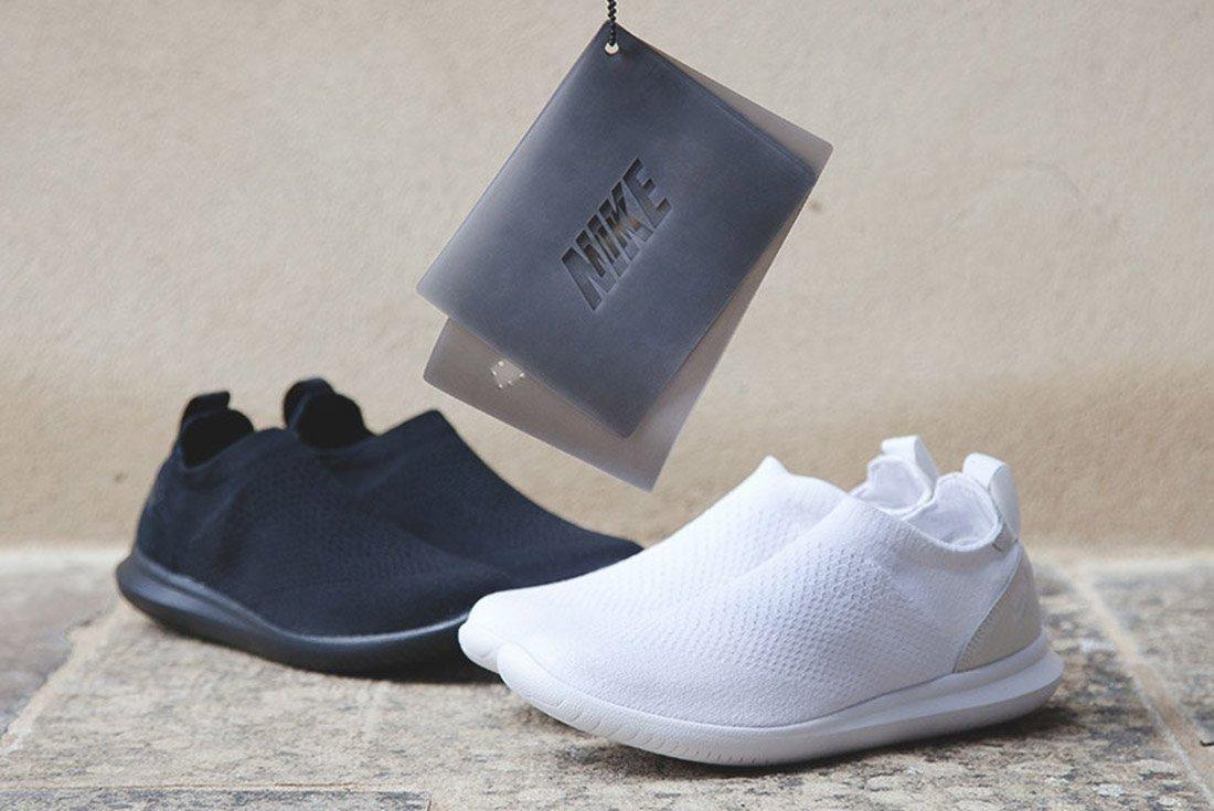 Nike Gakou Flyknit Triple Black White 1
