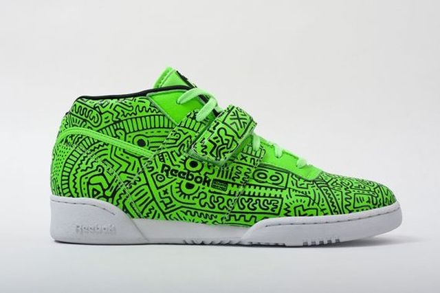 Reebok Classic Keith Haring Spring Summer 2014 Collection 5