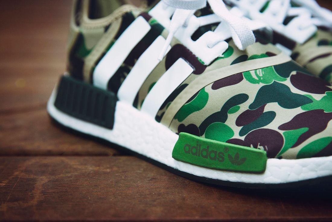Bape X Adidas Nmd R1 Camo Pack14