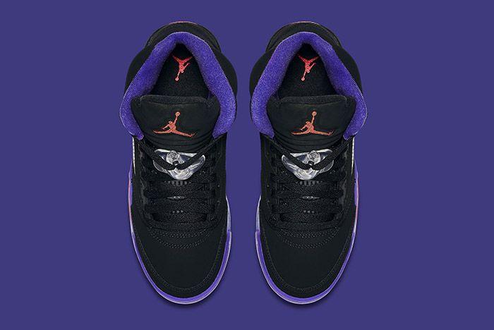 Air Jordan 5 Retro Gs Fierce Purple Raptors 3