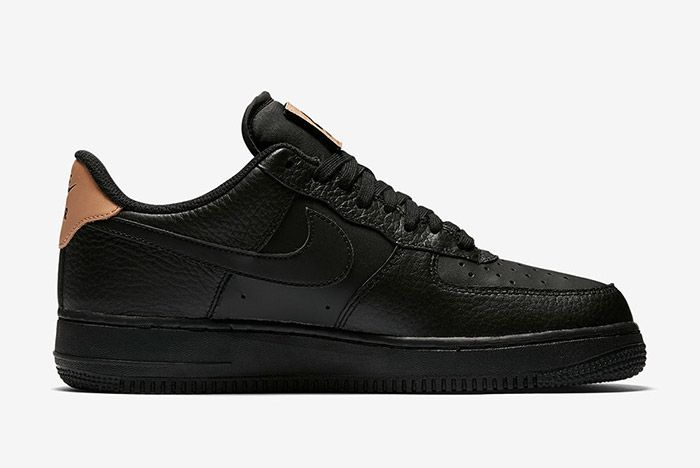 Nike Air Force 1 Low Black Leather 4
