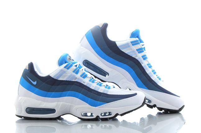 Nike Air Max 95 No Sew Uni Blue Photo Blue 1