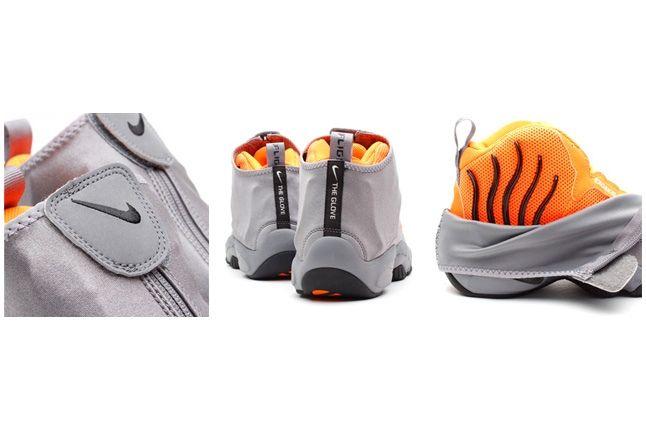 Nike Zoom Air Flight The Glove Coolgrey Total Orange 3