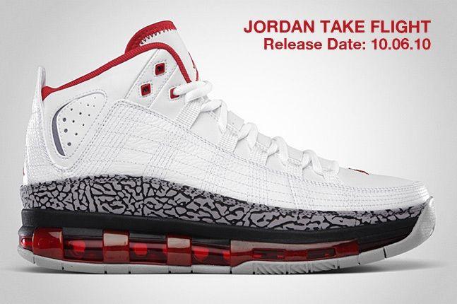 Jordan Take Flight White 1