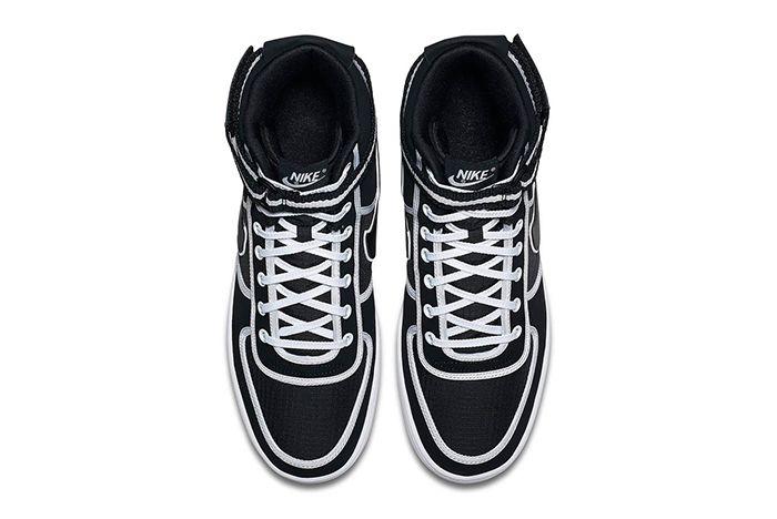 Nike Vandal Hi Black Ripstop White 2