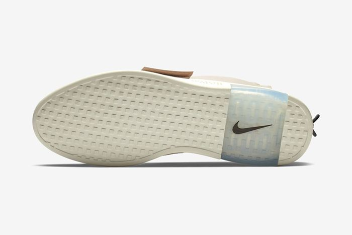 Nike Air Fear Of God Moc Particle Beige At8086 200 Release Date Outsole