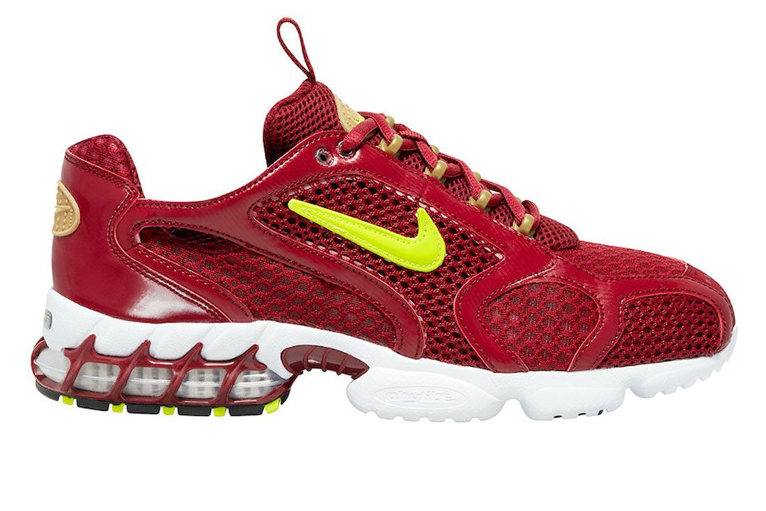 Nike Zoom Spiridon Cage 2 Red Volt Lateral