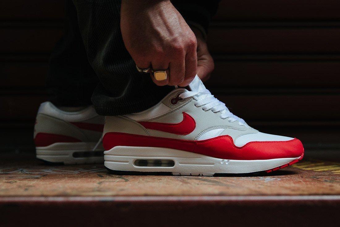 Nike Air Max 1 Anniversary Og Red White 21