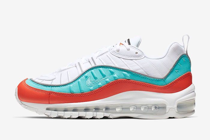 Nike Air Max 98 Cosmic Clay Light Aqua At6640 801 Release Date 1 Side