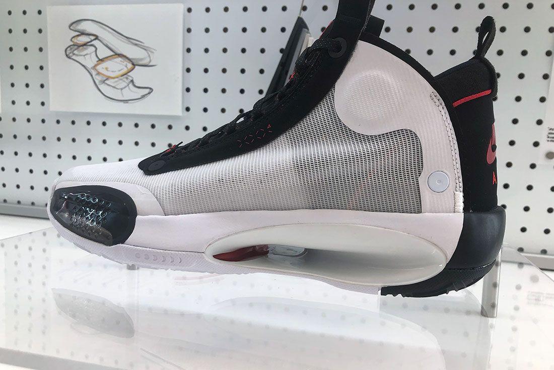 Air Jordan 34 Sneaker Freaker Exclusive Oregon19 Side