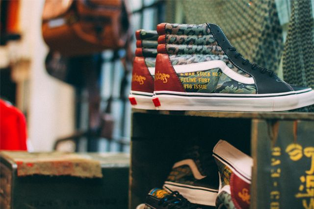 Sbtg X Kadir Warriors Vans Pack 5