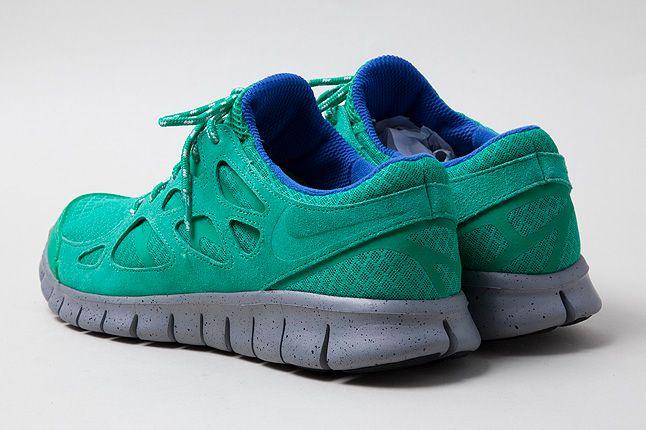 Green Mesh Upper Nike Free Run2 1 1