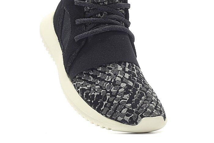 Adidas Tubular Defiant Snake W Black White 1