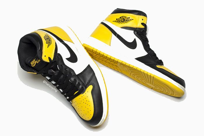 Air Jordan 1 Yellow Toe Ar1020 700 Release Date Pair1