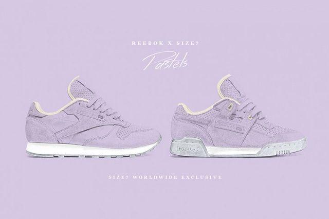 Size Reebok Pastels Purple Oasis Pack 9