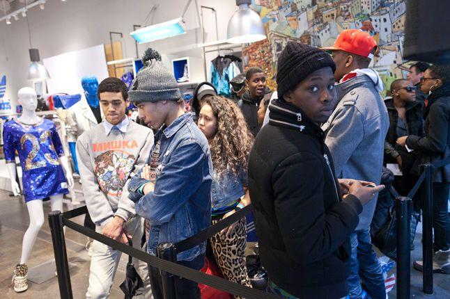 Jeremy Scott In Store Adidas Originals Soho New York 32 1