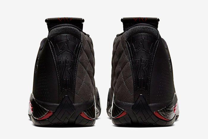 Air Jordan 14 Xiv Se Black Ferrari Bq3685 001 Heel
