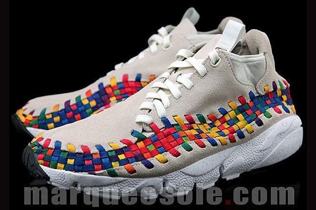 Nike Footscape Woven Chukka Rainbow 7 1