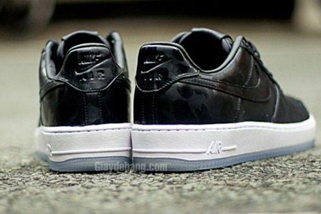 Nike Air Force One 1 Supreme Black Camo Heels Xxx 1