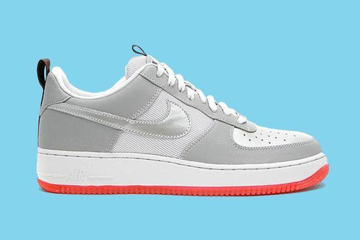 Nike Silver Bullet Air Force 1