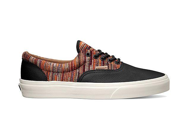 Vans California Collection Era Ca Italian Weave Black Burnt Orange 2014