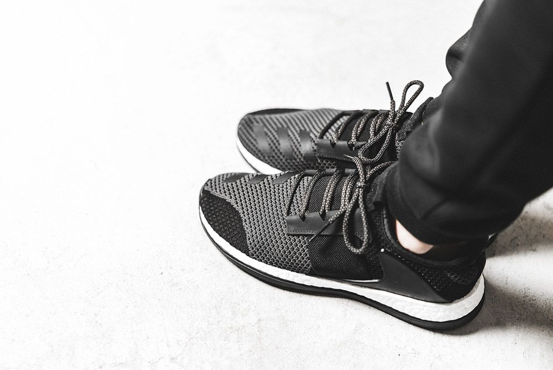 Day One Adidas Pure Boost Zg Black 1