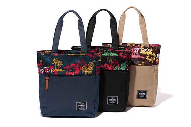 Stussy Herschel Supply Co Aloha Luggage Pack Tote 1
