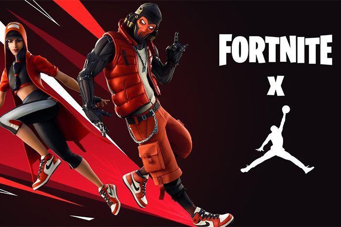 Fortnite Jumpman Air Jordan Brand Crossover Release Date Hero