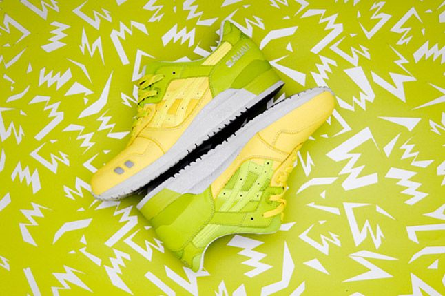 Asics Slam Jam Buttercup Lime Yellow Green Gel Lyte Iii 1