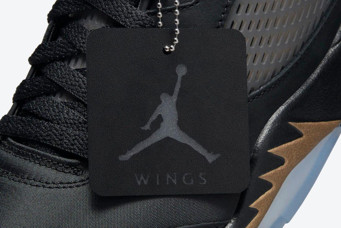 Air Jordan 5 wings official