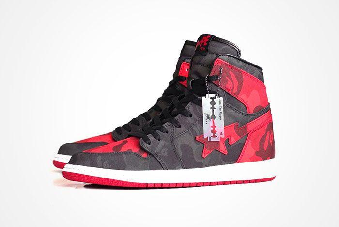 Air Jordan 1 Bredbape 2