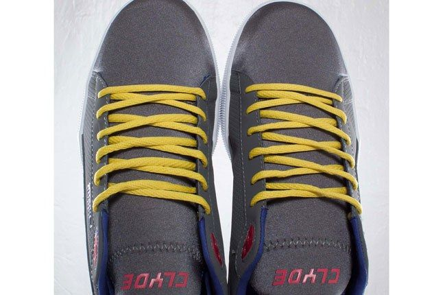 Puma Clyde Yellow Laces 1